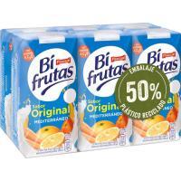 Lactozumo sabor Mediterráneo PASCUAL Bifrutas, pack 6x200 ml
