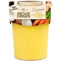 Crema Thai de zanahoria y coco AMETLLER, tarrina 485 ml