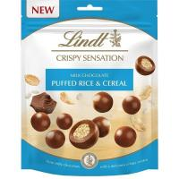 Sensation crispy leche LINDT, bolsa 140 g