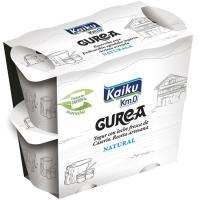 Yogur natural KAIKU Gurea, pack 4x115 g
