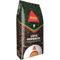 Café en grano natural superior DELTA, paquete 1 kg
