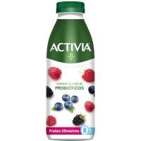Probiótico de frutas del bosque 0% ACTIVIA, botella 550 g