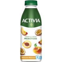 Probiótico de melocotón y maracuyá ACTIVIA, botella 550 g