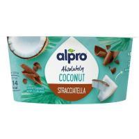 Fermentado de coco y stracciatella ALPRO, tarrina 120 g