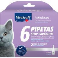 Pipeta para gato dimeticona VITAKRAFT, caja 6 uds