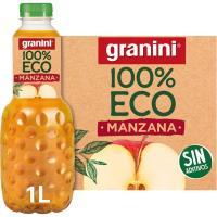 Zumo de manzana ecológico GRANINI, botella 1 litro