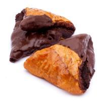 Triángulo hojaldre de cacao EROSKI, bandeja 2 uds