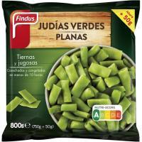 Judía verde plana FINDUS, bolsa 800 g