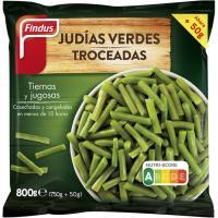 Judía verde troceada FINDUS, bolsa 800 g
