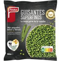 Guisantes superfinos FINDUS, bolsa 550 g
