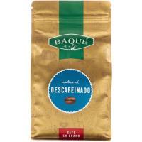 Café en grano descafeinado BAQUÉ, doypack 500 g