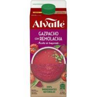 Gazpacho con remolacha ALVALLE, brik 750 ml