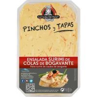 Ensalada surimi-colas bogavante COCINA DEL NORTE, tarrina 200 g
