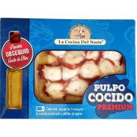Pulpo a la gallega COCINA DEL NORTE, bandeja 180 g