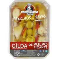 Gilda pulpo picante COCINA DEL NORTE, tarrina 220 g