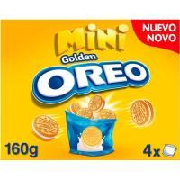 Galleta mini Golden Lu OREO, caja 60 g