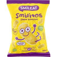 Gusanitos de maiz ecológico SMILEAT, bolsa 38 g