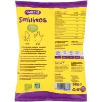 Gusanitos de maíz ecológico SMILEAT, bolsa 38 g