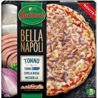 Pizza bella napoli atún y cebolla BUITONI, caja 450 g