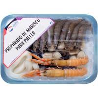 Preparado de marisco para paella DELFÍN, bandeja 600 g