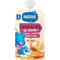 Papilla de leche-trigo-miel NESTLÉ, doypack 110 g