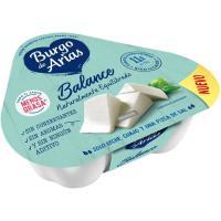 Queso fresco Balance mini BURGO DE ARIAS, tarrina 210 g