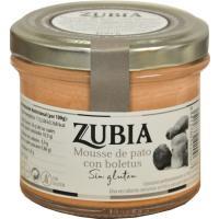 Mousse de pato con boletus ZUBIA, frasco 100 g