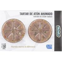 Tartar de atún ahumado MSC MARTIKO, pack 2x75 g