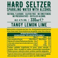 Hard Seltzer lima limón TOPO CHICO, lata 33 cl