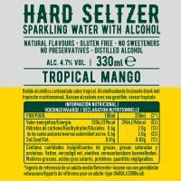 Hard Seltzer mango TOPO CHICO, lata 33 cl