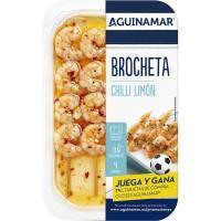 Brocheta de chilli limón AGUINAMAR, bandeja 145 g