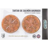 Tartar de salmón ahumado MARTIKO, pack 2x75 g