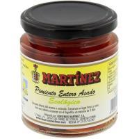Pimiento rojo asado bio MARTÍNEZ, frasco 140 g