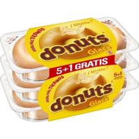 Donuts glacé DONUTS, 5+1 uds, paquete 312 g