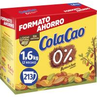 Cacao soluble 0% COLA CAO, caja 1,6 kg