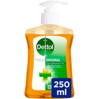 Jabón líquido de manos original DETTOL, dosificador 250 ml