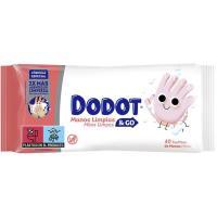 Toallitas para manos limpias&go DODOT, paquete 40 uds