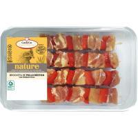 Brocheta de pollo rústico y pimiento rojo COC&COC, bandeja 360 g