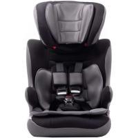 Silla auto Vik V2, grupo 123(de 9 a 36kg), color negro. Instalación cinturón. Cabezal regulable en altura, adaptable al crecimiento del niño. Con colchoneta reductora y apoyabrazos. Desenfundable y lavable VIVITTA, 1 ud