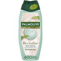 Gel de ducha algas&lotus PALMOLIVE, bote 400 ml
