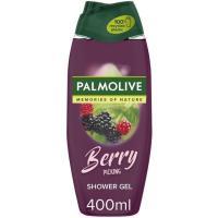 Gel de ducha berry picking PALMOLIVE, bote 400 ml