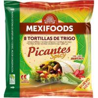 Tortilla picante MEXIFOOD, paquete 320 g