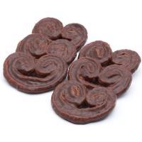 Palmeritas de chocolate EL PEQUEÑO MOLINO, bandeja 300 g