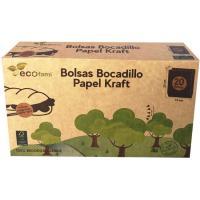 Bolsa de papel KRAFT, caja 20 uds