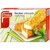 Bacalao rebozado FINDUS, caja 280 g
