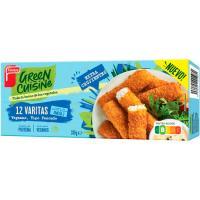 Varitas crujientes sabor pescado GREEN CUISINE, caja 336 g