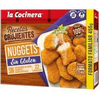 Nuggets sin gluten LA COCINERA, caja 445 g