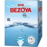 Agua mineral natural BEZOYA, ecobox 8 litros