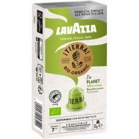 Café tierra bio LAVAZZA, caja 10 monodosis
