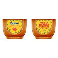 Natillas de caramelo con sal DANET, pack 4x120 g